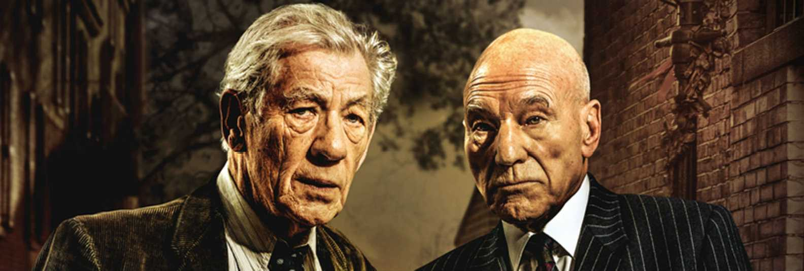No Man's Land get up close with two British acting legends