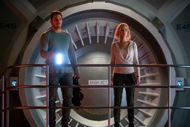Epic sci-fi Passengers stars Chris Pratt and Jennifer Lawrence