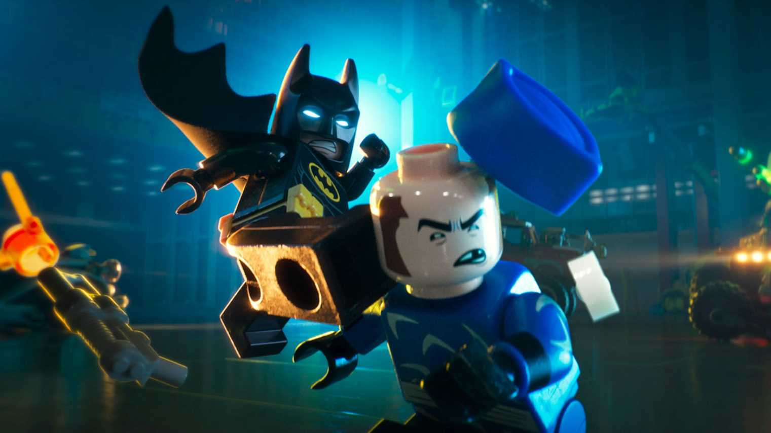 Go behind the scenes of The Lego Batman Movie