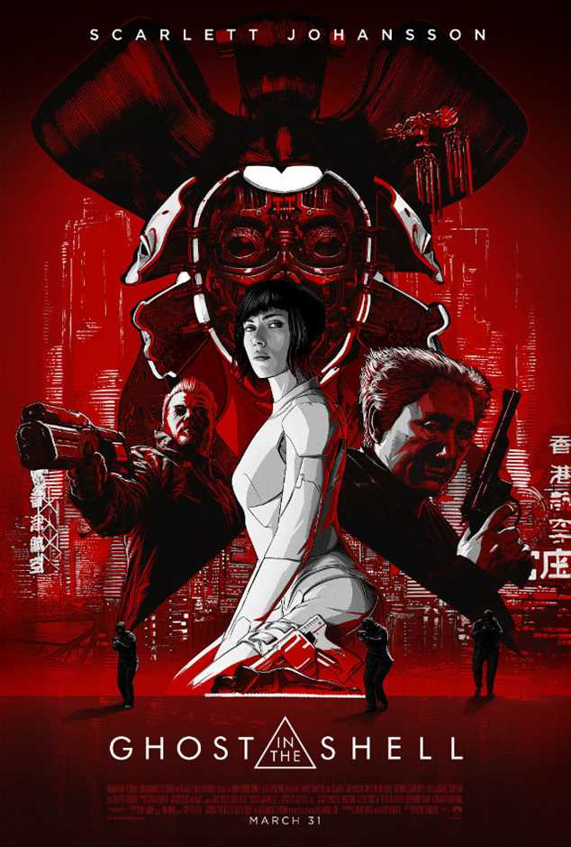 Eight reasons to get excited about Ghost in the Shell