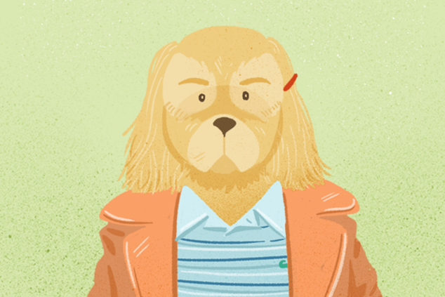 Wes Anderson dog (Margot Tenenbaum from The Royal Tenenbaums)