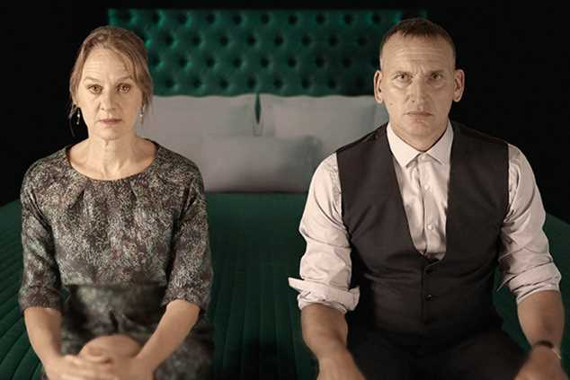 Niamh Cusack and Christopher Eccleston in Macbeth