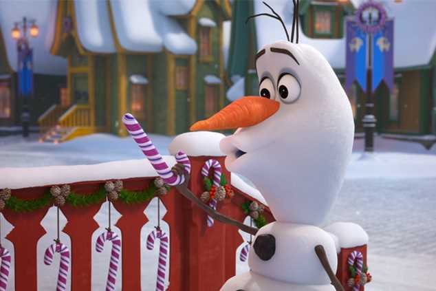 Olf in Olaf's Frozen Adventure