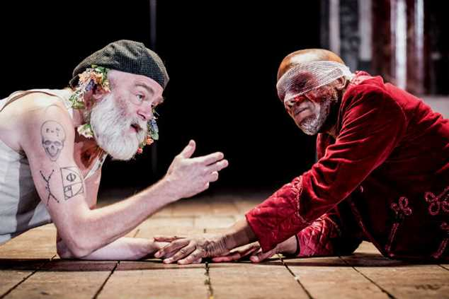 Kevin R McNally stars in King Lear live at Shakespeare's Globe