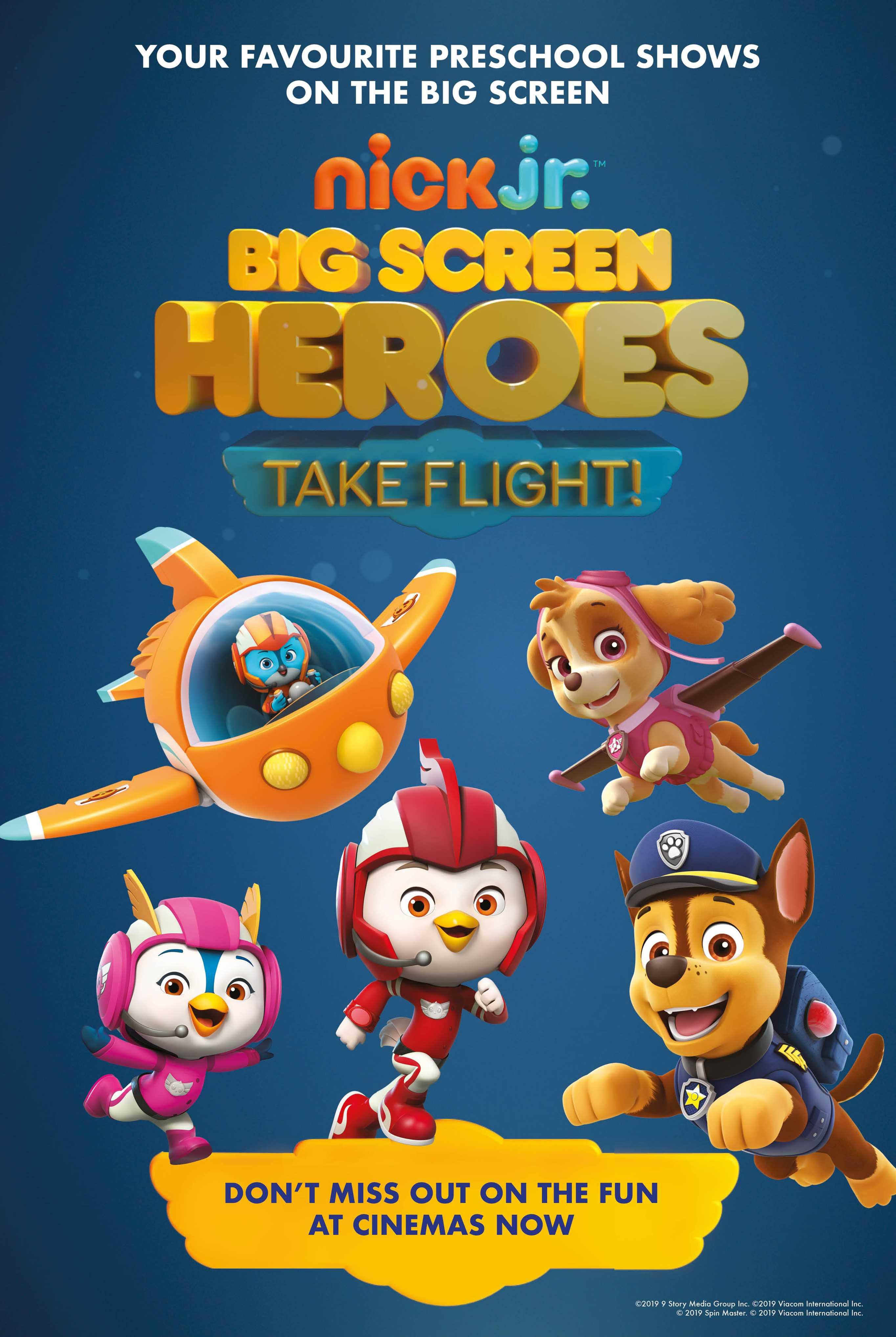 Big Screen Heroes: Take Flight - Paw Patrol and Top Wing