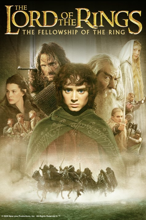 Film poster for: The Lord of the Rings: The Fellowship of the Ring IMAX