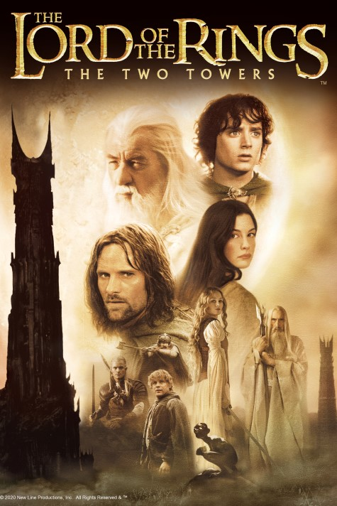 Film poster for: The Lord of the Rings: The Two Towers IMAX