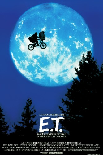 Film poster for: E.T. the Extra-Terrestrial
