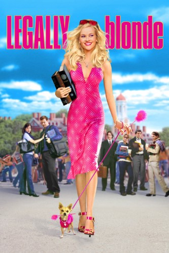 Film poster for: Legally Blonde