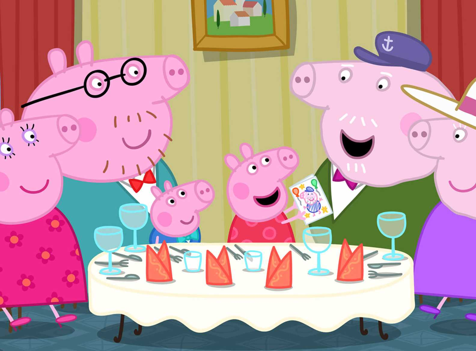 Watch Peppa Pig The Festival Of Fun At Vue Cinema Book Tickets Online