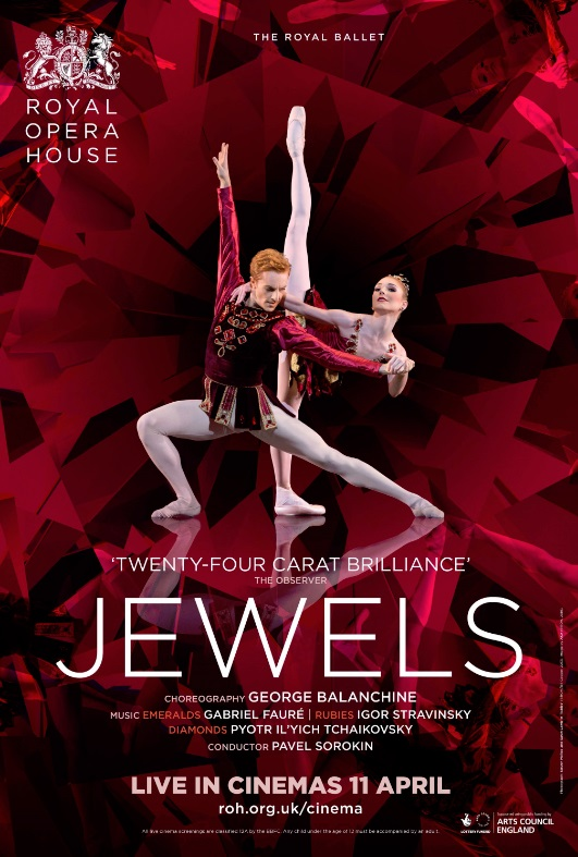 Jewels - The Royal Ballet, London 2016/17