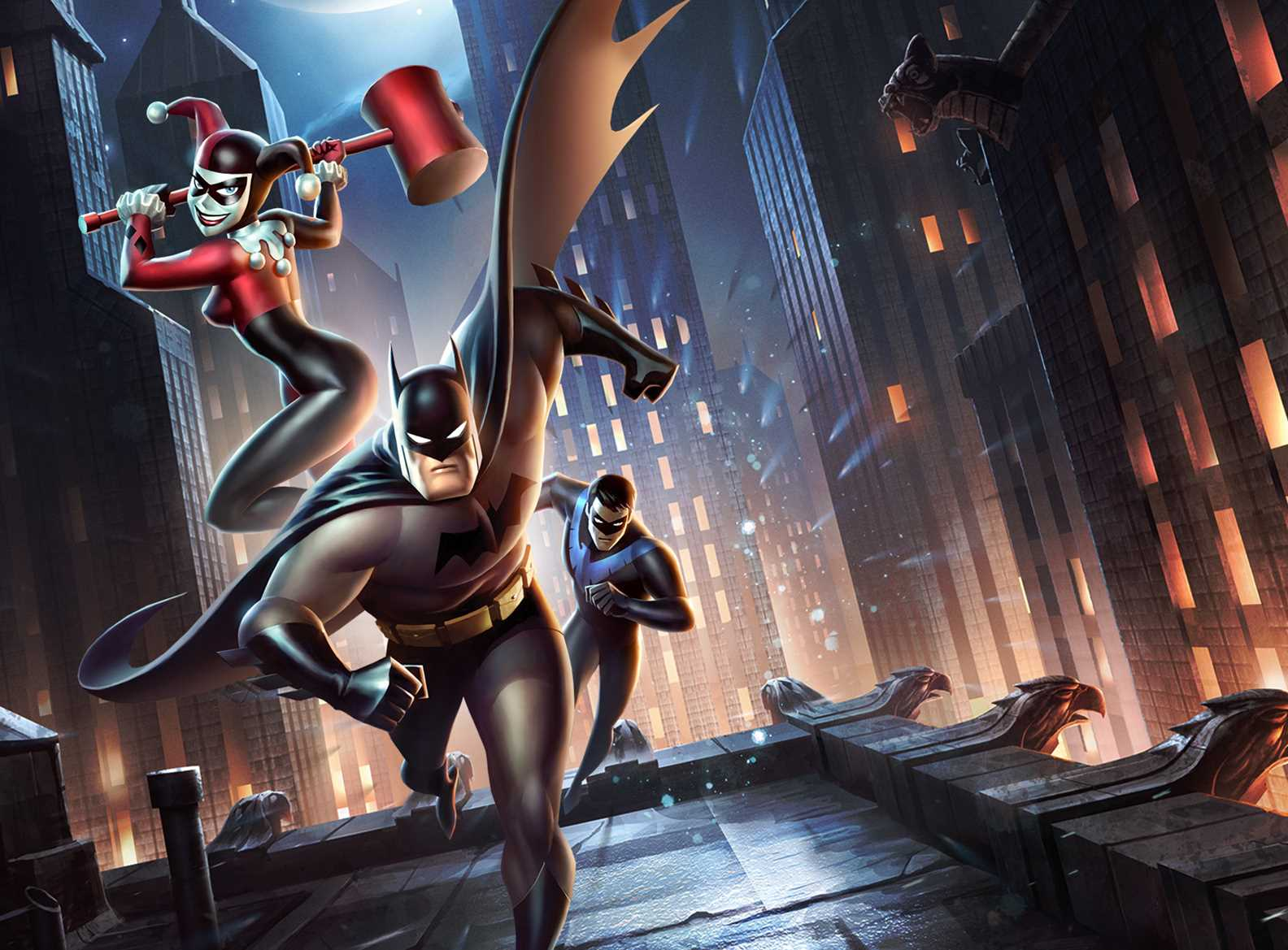 Batman vs Harley Quinn