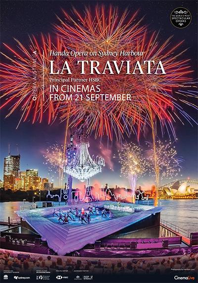 Film poster for: La Traviata On Sydney Harbour 2021