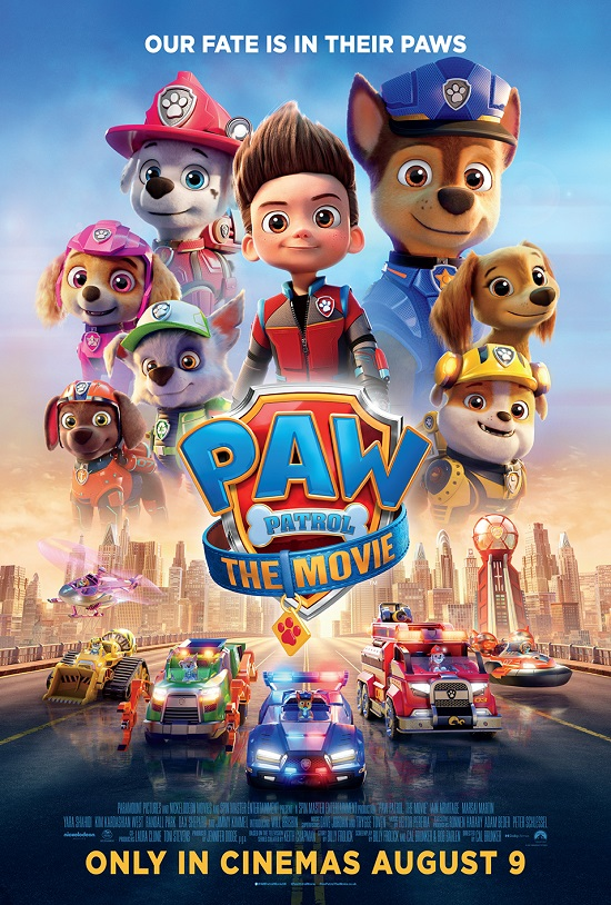 Film poster for: Paw Patrol: The Movie