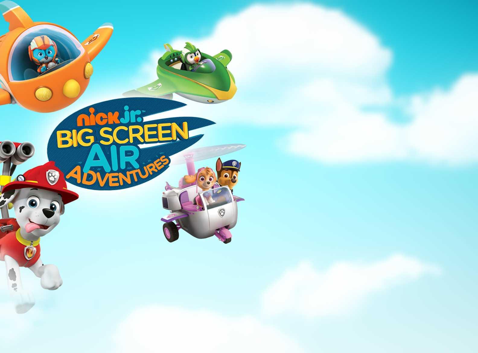 nick jr air adventures tickets book online at vue cinemas