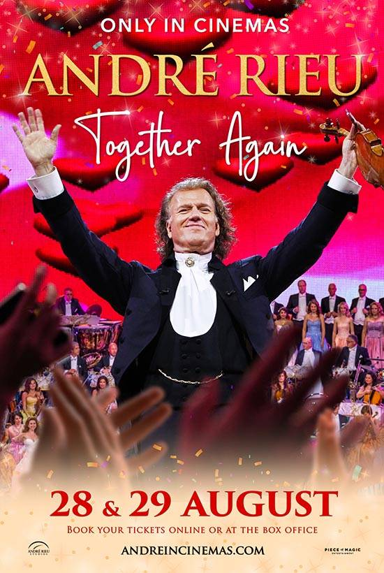 Film poster for: Andre Rieu's 2021 Summer Concert: Together Again