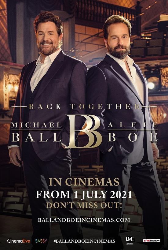 Film poster for: Michael Ball & Alfie Boe - Back Together