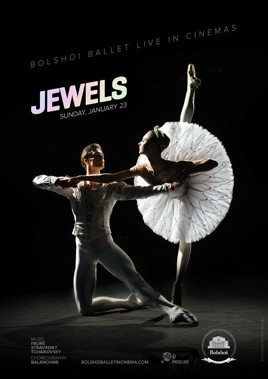 Film poster for: Bolshoi Ballet - Jewels (2021)