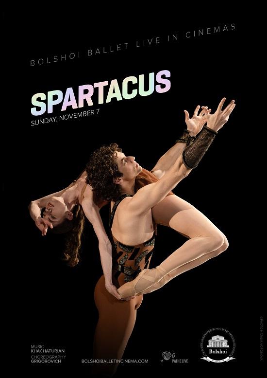 Film poster for: Bolshoi Ballet - Spartacus (2021)