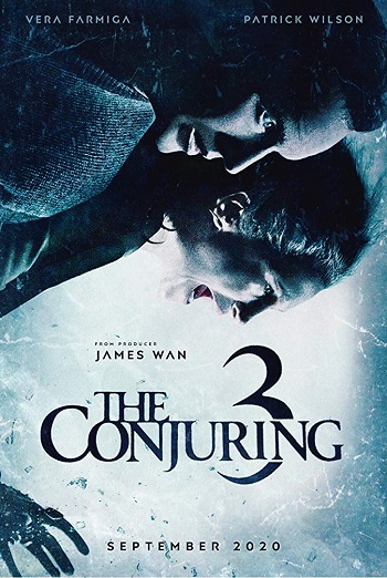 Film poster for: The Conjuring: The Devil Made Me Do It