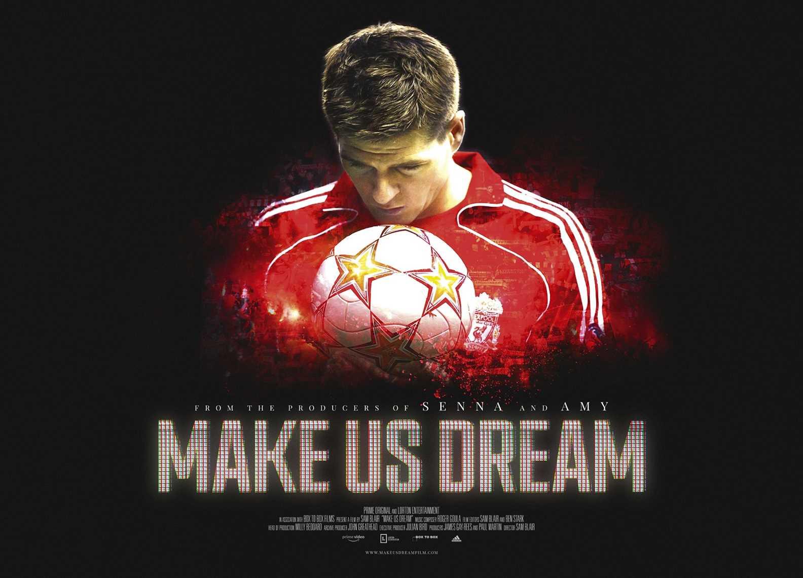watch make us dream live satellite intro with steven gerrard at