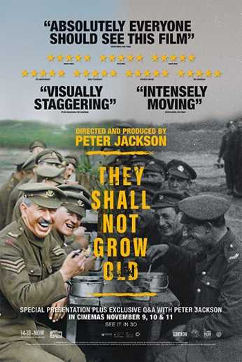 They Shall Not Grow Old + Recorded Q&A