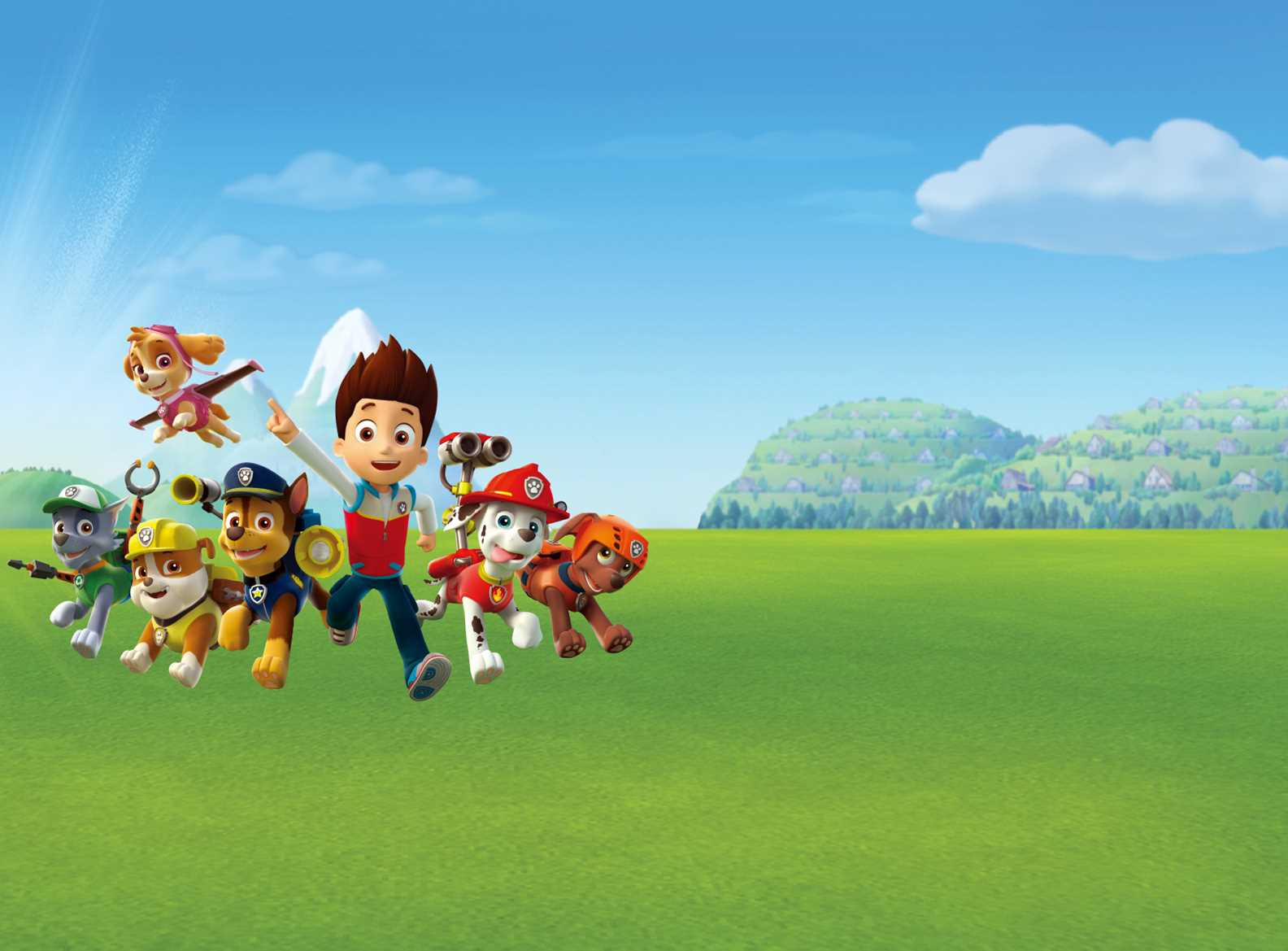 Paw Patrol Big Screen Tails Book Tickets Vue Cinemas