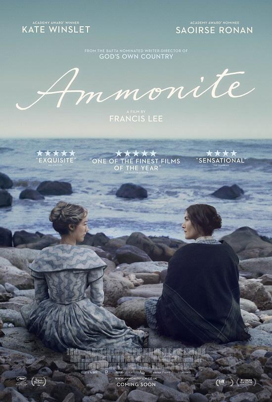 Film poster for: Ammonite - LFF Gala