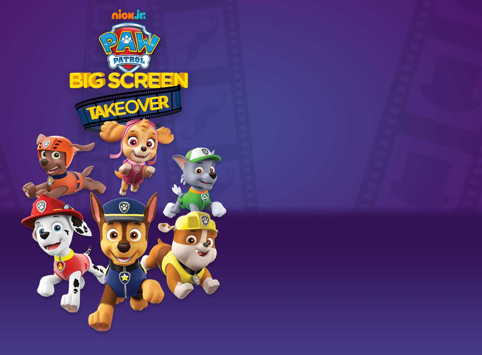 Paw Patrol Big Screen Takeover