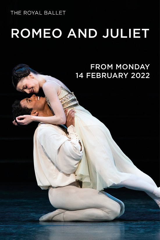 Film poster for: The Royal Ballet: Romeo & Juliet (2022)