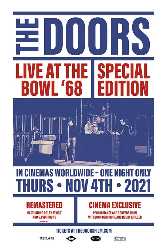 Film poster for: The Doors: Live at the Bowl '68 Special Edition