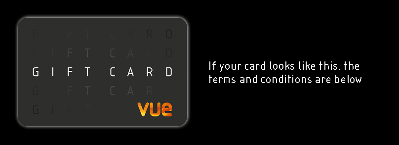 Vue Gift Card